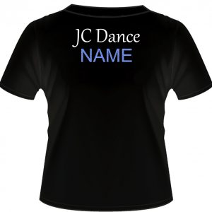 JC Dance Black T-Shirts