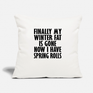 Spring Rolls Cushion Covers