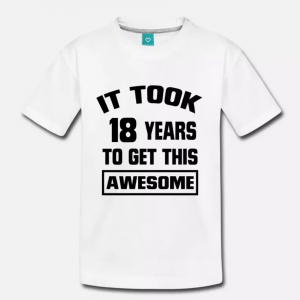 18 Years Awesome T-Shirt